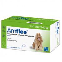 AMFLEE 134 mg Spot-on Lsg.f.mittelgr.Hunde 10-20kg, 3 ST, TAD Pharma GmbH