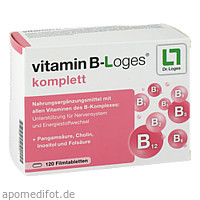 vitamin B-Loges komplett, 120 ST, Dr. Loges + Co. GmbH