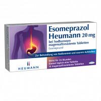 Esomeprazol Heumann 20mg bei Sodbrennen msr. Tabl., 14 ST, Heumann Pharma GmbH & Co. Generica KG