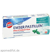 Emser Pastillen mit Mentholfrische zuckerfrei, 30 ST, Sidroga Gesellschaft Für Gesundheitsprodukte mbH