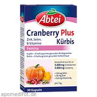 ABTEI Kürbis Plus Cranberry, 30 ST, Omega Pharma Deutschland GmbH