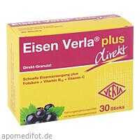 Eisen Verla plus Direkt-Sticks, 30 ST, Verla-Pharm Arzneimittel GmbH & Co. KG