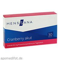 Cranberry akut MensSana, 30 ST, MensSana AG