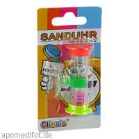 Clienis Sanduhr 1-3 Minuten Zahnputzuhr, 1 ST, Megadent Deflogrip Gerhard Reeg GmbH
