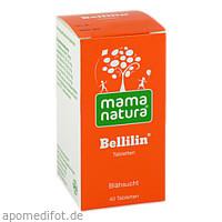 mama natura Bellilin Tabletten, 40 ST, Dhu-Arzneimittel GmbH & Co. KG