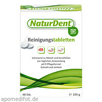 Naturdent Reinigungstabletten, 48 ST, Roha Arzneimittel GmbH