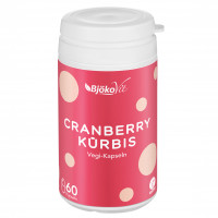Cranberry-Kürbis Vegi-Kapseln, 60 ST, BjökoVit