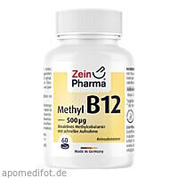 Vitamin B12 500ug - Methylcobalamin, 60 ST, Zein Pharma - Germany GmbH