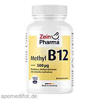 Vitamin B12 500 ug Lutschtabletten, 180 ST, Zein Pharma - Germany GmbH