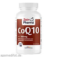 Coenzym Q10 100 mg, 240 ST, Zein Pharma - Germany GmbH