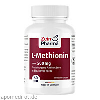 L-Methionin, 60 ST, Zein Pharma - Germany GmbH