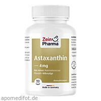 Astaxanthin 4mg pro Kapsel, 90 ST, Zein Pharma - Germany GmbH