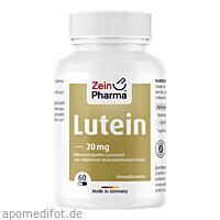 Lutein 20mg Kapseln mikroverkapselt, 60 ST, Zein Pharma - Germany GmbH