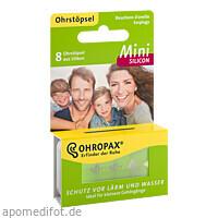 OHROPAX Mini Silicon, 8 ST, Ohropax GmbH