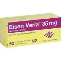 Eisen Verla 35mg, 50 ST, Verla-Pharm Arzneimittel GmbH & Co. KG