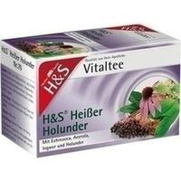 H&S Heißer Holunder Vitaltee, 20X2.0 G, H&S Tee - Gesellschaft mbH & Co.