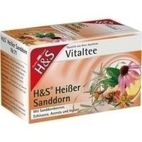 H&S Heißer Sanddorn Vitaltee, 20X2.0 G, H&S Tee - Gesellschaft mbH & Co.