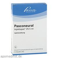PASCONEURAL Injektopas 2% 5ml, 5 ST, Pascoe pharmazeutische Präparate GmbH