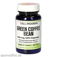Green Coffee Bean 400 mg GPH Kapseln, 60 ST, Hecht-Pharma GmbH