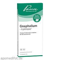 Gnaphalium-Injektopas, 10 ST, Pascoe pharmazeutische Präparate GmbH