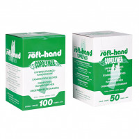 Softhand Copolymer Handschuhe puderfrei Gr. L, 50X2 ST, Diaprax GmbH