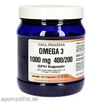 Omega 3 1000 mg 400/200 GPH Kapseln, 360 ST, Hecht-Pharma GmbH