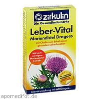 Zirkulin Leber-Vital Mariendistel Dragees, 60 ST, DISTRICON GmbH
