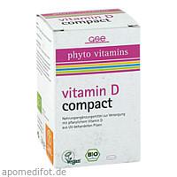 Vitamin D Compact Bio, 120 ST, Gse Vertrieb Biologische Nahrungsergänzungs- & Heilmittel GmbH
