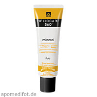 Heliocare 360 Mineral Fluid SPF 50+, 50 ML, Derma Enzinger GmbH