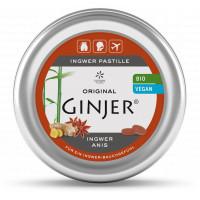 Ingwer Ginjer Anis Pastille BIO, 40 G, Lemon Pharma GmbH & Co. KG