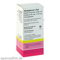 TARDYFERON-Fol Depot-Eisen(II)-sul.m.Fols.Filmtab., 100 ST, kohlpharma GmbH