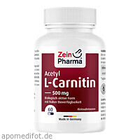 Acetyl-L-Carnitin, 60 ST, Zein Pharma - Germany GmbH