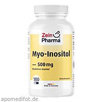 Myo-Inositol, 180 ST, Zein Pharma - Germany GmbH