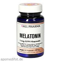 Melatonin 1mg GPH Kapseln, 30 ST, Hecht-Pharma GmbH