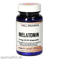 Melatonin 3mg GPH Kapseln, 60 ST, Hecht-Pharma GmbH