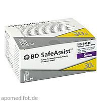 BD SAFE Assist Sicherheits-Pen-Nadel 30 Gx 5 mm, 50 ST, Becton Dickinson GmbH