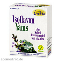 Isoflavon-Yams, 60 ST, Espara GmbH