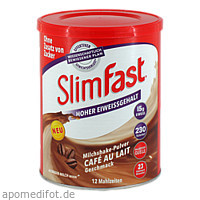 Slim-Fast Pulver Cafe au Lait, 438 G, Allpharm Vertriebs GmbH