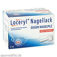 Loceryl Nagellack gegen Nagelpilz DIREKT-Applikat., 3 ML, Galderma Laboratorium GmbH