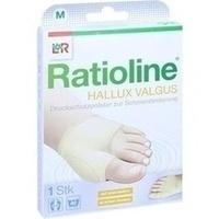 Ratioline Hallux valgus Druckschutzpolster Gr. M, 1 ST, Lohmann & Rauscher GmbH & Co. KG