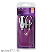 ApoLine Manicure Etui lila 3-teilig, 1 ST, Wepa Apothekenbedarf GmbH & Co. KG