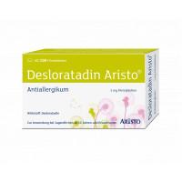 Desloratadin Aristo 5mg Filmtabletten, 100 ST, Aristo Pharma GmbH