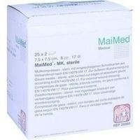 MULLKOMPRESSEN 7.5x7.5cm 8fach steril, 25X2 ST, Brinkmann Medical Ein Unternehmen der Dr. Junghans Medical GmbH
