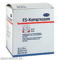 ES-Kompressen steril 10x10cm Großpackung, 10X10 ST, Count Price Company GmbH & Co. KG