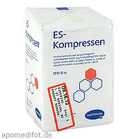 ES-Kompressen unsteril 7.5x7.5cm 8fach, 100 ST, Count Price Company GmbH & Co. KG