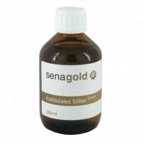 Kolloidales Silber 10ppm, 200 ML, Senagold Naturheilmittel GmbH