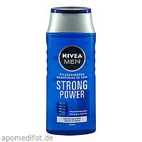 NIVEA MEN SHAMPOO STRONG POWER, 250 ML, Beiersdorf Ag/Gb Deutschland Vertrieb