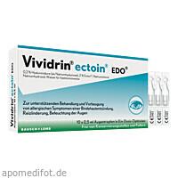 Vividrin ectoin EDO Augentropfen, 10X0.5 ML, Dr. Gerhard Mann