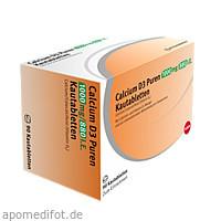 Calcium D3 Puren 1000 mg/880 I.E. Kautabletten, 90 ST, PUREN Pharma GmbH & Co. KG