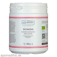 Baobab Fruchtpulver Bio, 300 G, Vita Natura GmbH & Co. KG
